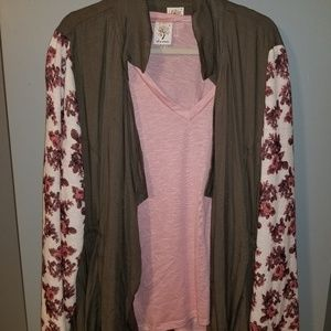 Self Esteem Top and Cover up Brand new 3x